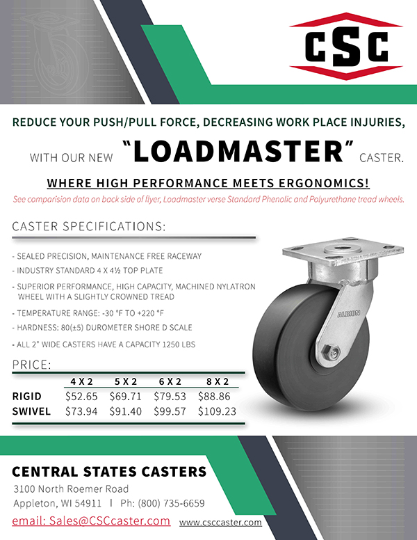 High Performance Casters