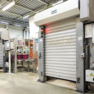 Machine Production Roll-up Doors