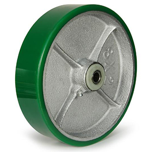 Polyurethane on Cast Iron Wheels
