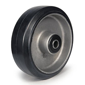 Rubber on Aluminum Wheels